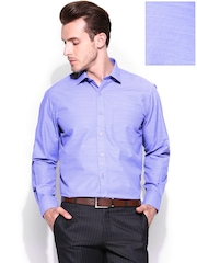 John Players Men Purple Formal Shirt