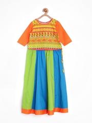 Alpna Kids Girls Multicoloured Lehenga Choli