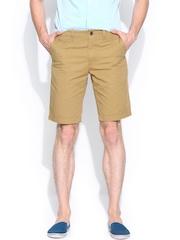 Indian Terrain Men Khaki Shorts