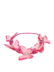 Angels by Accessorize Girls Pink Hairband