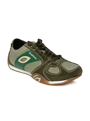 Woodland Proplanet Men Olive Green Leather Casual Shoes