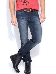 American Swan Men Navy Slim Fit Jeans