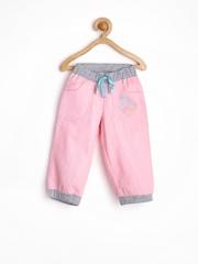 MeeMee Girls Pink Track Pants