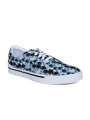Adidas NEO Men Sea Green & Blue Printed Park ST Classic Casual Shoes