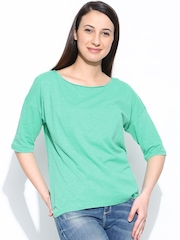 Femella Women Sea Green Top