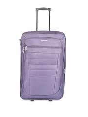 Safari Unisex Purple Trolley Suitcase