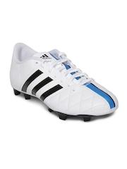 Adidas Men White 11Questra FG Football Shoes
