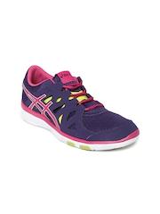 ASICS Women Purple Gel-Fit Tempo Training Shoes