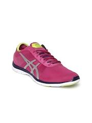 ASICS Women Pink Gel-Fit Nova Training Shoes