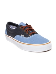 Vans Unisex Navy Leather Casual Shoes