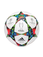Adidas Men White Champions League FinBerlin-Comp Football