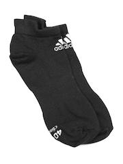 Adidas Unisex Black Sports Socks