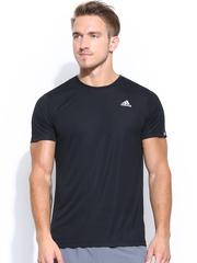 Adidas Men Black Fab Tennis T-shirt