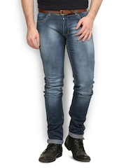 Police Men Blue Slim Fit Jeans