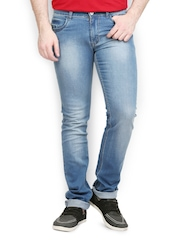 Police Jeans Men Blue Slim Fit Jeans