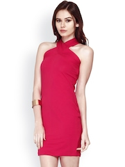 FabAlley Women Pink Bodycon Dress