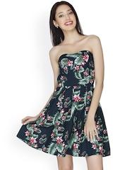 Multicoloured Printed Tube Dress 20Dresses