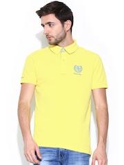 Numero Uno Men Yellow Polo T-shirt
