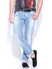SPYKAR Men Blue Renegade Fit Jeans