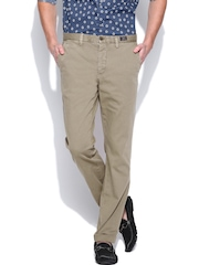 Tommy Hilfiger Men Taupe Hudson Straight Fit Chino Trousers