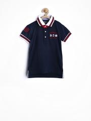 Gini and Jony Boys Navy Polo T-shirt