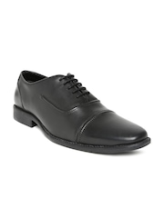 Allen Solly Men Black Leather Formal Shoes