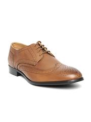 Allen Solly Men Brown Leather Semiformal Shoes