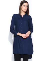 Global Desi Women Navy Tunic