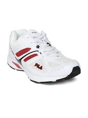FILA Men White Cavier Sports Shoes