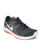 Nike Men Grey Flex Fury Running Shoes
