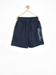 United Colors of Benetton Boys Navy 3/4th Shorts