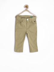 United Colors of Benetton Boys Khaki Trousers
