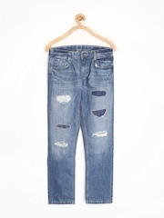 United Colors of Benetton Boys Blue Jeans