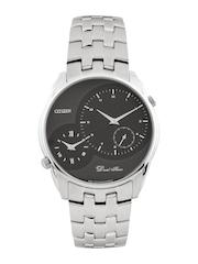 Citizen Men Black Dial Watch AO3005-56E