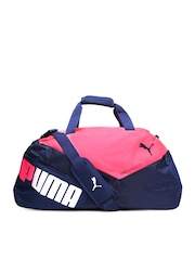 PUMA Unisex Navy & Pink evoSPEED Duffle Bag