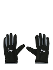 PUMA Unisex Black Running Performance Gloves