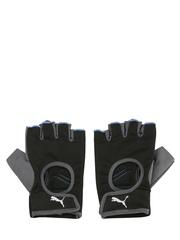 PUMA Unisex Black Fingerless Training Gloves