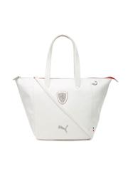 PUMA White Ferrari LS Handbag