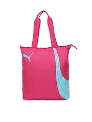 PUMA Women Pink Fundamentals Shopper Bag