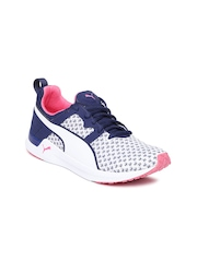 PUMA Women White Pulse XT Geo Training Shoes