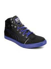 PUMA Unisex Black Drongos DP Running Shoes