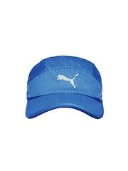 PUMA Unisex Blue Mesh Running Cap