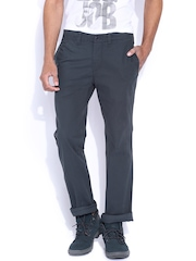 CAT Navy Original Fit Chino Trousers