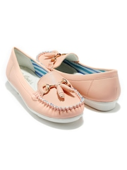 Candie's New York Women Light Pink Loafers