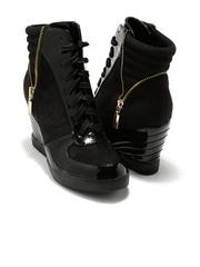 Candie's New York Women Black Boots