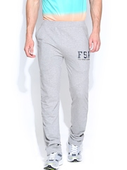 FILA Men Grey Melange Vitu South Ao Track Pants