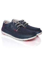 Crocs Men Navy Canvas Shoes