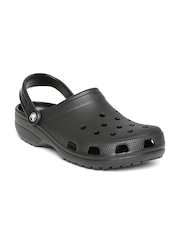 Crocs Unisex Black Clogs