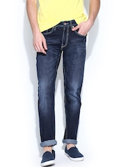 FREECULTR Men Blue Slim Tapered Fit Jeans