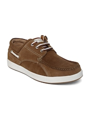 Red Chief Men Brown Suede Casual Shoes